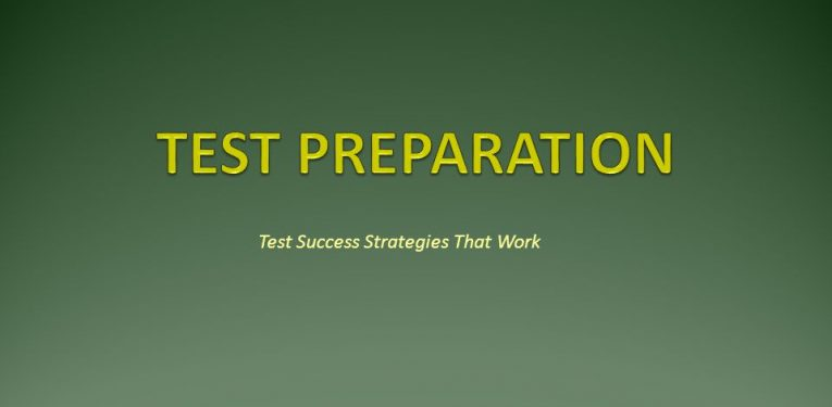 Test Preparation Tips