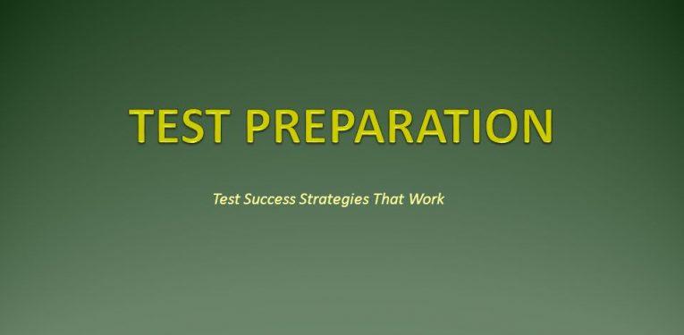 Test Preparation Tips